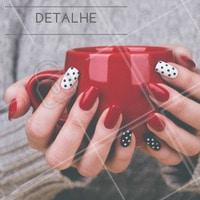 Que tal apostar em um detalhe para deixar as unhas mais divertidas? #Inspiração #Detalhe #Unha