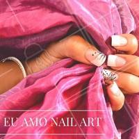 Se você também AMA, deixe um comentário neste post! #NailArt #Unha #UnhasDecoradas #Nails #AmoEsmalte #Esmalteria #Ahazou