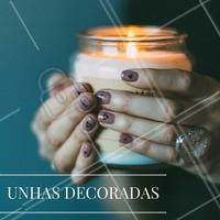 Quem também AMA unhas originais e divertidas? #NailArt #Unha #UnhasDecoradas #Nails #AmoEsmalte #Esmalteria #Ahazou