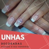 Nossas manicures esperam por você! Venha decorar as suas unhas! #NailArt #Unha #UnhasDecoradas #Nails #AmoEsmalte #Esmalteria #Ahazou