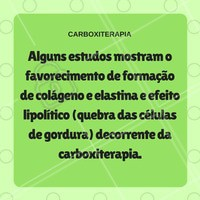 Você sabia?   #ahazou #carboxiterapia #beauty