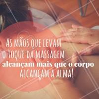 A arte de viver com massagem! #Massagem #AmoSerMassagista #ArteDaMassagem #AmoMassagem #FrasesMotivacionais #Ahazou