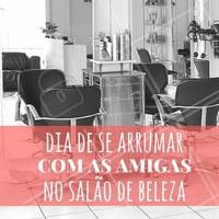 Já marcou com as amigas? É sexta-feira! #Cabelo #Hair #SextaFeira #Friday #AmoCabelo #Ahazou