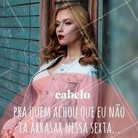 Fica a dica! #Cabelo #Hair #SextaFeira #Friday #AmoCabelo #Ahazou