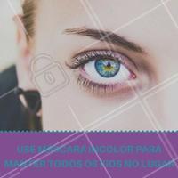 Para quem gosta de manter as sobrancelhas certinhas, essa dica é infalível! #Sobrancelha #Dica #Máscaraincolor