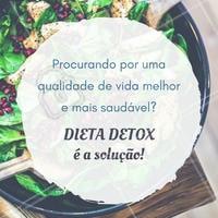 Comece já! #Dieta #Detox #Saúde #Alimentação #Fitness