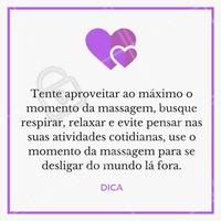 Fazendo isso, o efeito da massagem será mais eficaz!  #ahazou #massagem #estetica