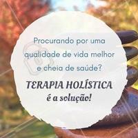 Comece agora! #TerapiaHolistica #Saúde #BemEstar #Ahazou