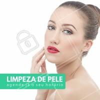 Fique com a sua pele livre de impurezas, marque sua limpeza de pele com a gente! #limpezadepele #pele #estética #ahazou #beleza #tratamentofacial