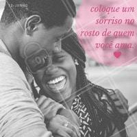 Que tal presentear o seu amor com algo especial? Pense no sorriso! #sorriso #amor #diadosnamorados