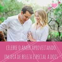 Agende agora o horário dos dois pombinhos! #casal #amor #diadosnamorados