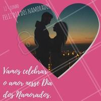 O amor está no ar... Feliz Dia dos Namorados para todos! #amor #diadosnamorados #casal