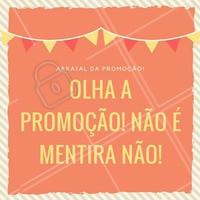 Em época de festa junina também tem promoção! Aproveite, e agende seu horário!  #promoção #festajunina #beleza