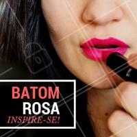 Delicado e feminino. Aposte no rosa! #Maquiagem #AmoMaquiagem #Ahazou