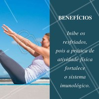 Um dos benefícios incríveis para quem pratica exercícios físicos com frequência! #Saúde #BemEstar #Fitness #Exercícios