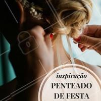 Ideal para quem quer arrasar na noite! #Cabelo #Hair #Inspiração #Ahazou #SalaoDeBeleza #Autoestima #Cabeleireiro #Penteado
