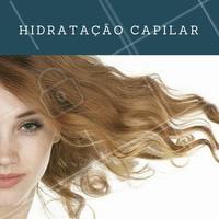Hidratação é a chave do sucesso para ter cabelos bonitos e sedosos. Que tal agendar o seu horário? #Cabelo #CabelosHidratados #Hidratação #HidrataçãoCapilar