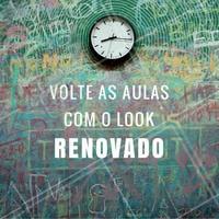 Renovar o look faz toda a diferença na auto estima. Agende já o seu horário! #look #voltaasaulas #autoestima