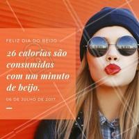 Você sabia? Que tal aproveitar esse dia do beijo?   #ahazou #beauty #beleza #diadobeijo