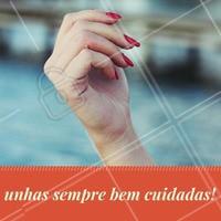 Agende o seu horário e venha ARRASAR nas unhas! #Nails #Unhas #Esmalte #Manicure