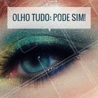 Maquiagem com olhos marcantes para noite? Eu quero! #Maquiagem #Makeup #Ahazou