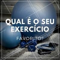 Deixe aqui nos comentários! #Fitness #Saúde #BemEstar