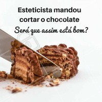 Hoje é Dia Mundial do Chocolate! #chocolate #chocolovers #esteticista