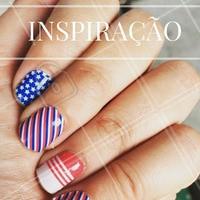 Nail art do dia: Inspire-se! #Unha #Nails #Inspiração #Ahazou