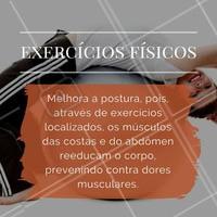 Já conhece os benefícios de praticar exercícios físicos? Veja só! #Saúde #BemEstar #Fitness #Exercícios #CorpoSaudável