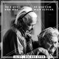 Feliz Dia das Vovós que não deixam os netinhos sairem de suas casas se não estiverem alguns quilinhos mais fofinhos! Muito amor por essas doçuras! #avós #doce