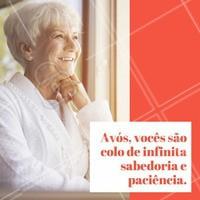 Melhores pessoas! Eu amo vocês, feliz dia dos avós!  #diadosavós #ahazou