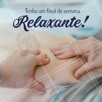 Hoje é dia de relaxar!  #ahazou #estéticacorporal #massagem