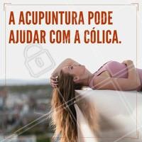 Muita cólica? A acupuntura te ajuda com isso, podendo reduzir a dor e a causa do problema.   Agende seu horário!  #ahazou #acupuntura