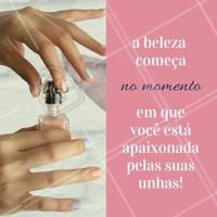 Nada melhor do que se sentir bem com as suas unhas! #Unhas #Nails #Motivacional #Manicure