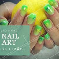 Inspire-se! #Unhas #Nails #NailArt #Manicure