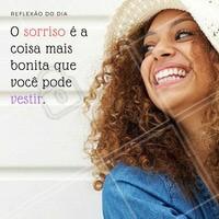 Já sorriu hoje? Vista o seu sorriso!  #ahazou #motivacional #quotes