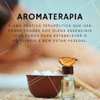 Que tal adquirir o bem estar necessário? Agende seu horário!  #ahazou #aromaterapia