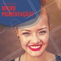 A micropigmentação é um processo que consiste na adição de pigmentos na derme. Em sobrancelhas, é possível desenhar, iluminar e sombrear, deixando-as perfeitas! #designdesobrancelha #micropigmentação #sobrancelha