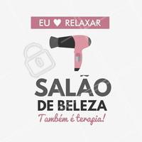 O melhor lugar para você poder relaxar, não é mesmo? #Cabelo #Hair #Beleza #SalãoDeBeleza #Ahazou #Relaxamento #Autoestima