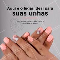 Os melhores tratamentos e cuidados especiais de manicure esperam por você. Agende já o seu horário! #Manicure #Unhas #Nails