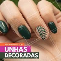 A Nail Art é a técnica que embeleza ainda mais as unhas das mulheres. Nós amamos! #Manicure #Unhas #Nails #NailArt