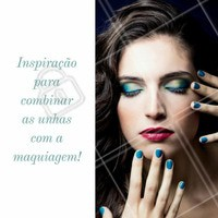 Inspire-se! #Manicure #Unhas #Nails #NailArt #Maquiagem