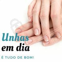As unhas podem revelar como as pessoas realmente são. Se a mulher cuida da unha, é sinal de vaidade. #Manicure #Unhas #Nails #NailArt