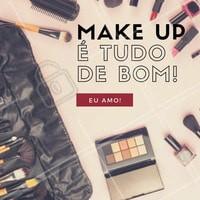 Diva não se maquia, realça a beleza! Não é mesmo, migas? #Maquiagem #Makeup #Make #AmoMaquiagem