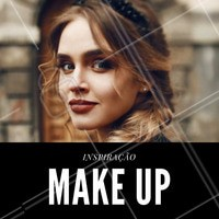 Maquiagem com tons terrosos para inspirar nos dias mais frios! #Ahazou #Maquiagem #Makeup #AmoMaquiagem #Inspiração