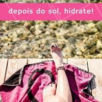 Capriche no hidratante para deixar a pele protegida evitando a descamação e o sumiço do bronzeado. Além disso o produto diminui os vermelhões e a sensação de ardor. #hidratante #amo #ahazou #bronzeado #saúde