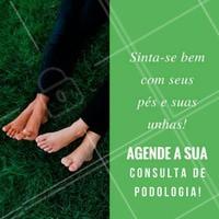 Marque o melhor horário para um dia de tratamento nas unhas e nos pés! #podologia #Pedicure #Esmalte #Unhas