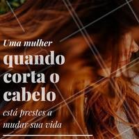 Cabelo cortado, alma lavada! #cabelo #renovar #cabeleireiro #motivacional