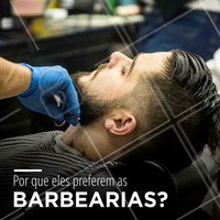 O motivo é simples: eles preferem estar nas mãos seguras de um barbeiro que sabem muito bem o que fazem. Barba sem falhas e pronta pra ser desfilada por aí com muito orgulho!  #Barbearia #BarberShop #Ahazou #Homens #Barba