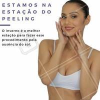 O peeling é um tratamento estético muito utilizado para combater cicatrizes de acne, rugas finas ou manchas. Aproveite a estação para agendar sua consulta conosco! #peeling #esteticafacial #rejuvenescimentofacial